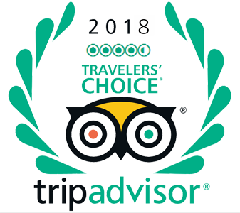 Tripadvisor Traveller's Choice Award 2018